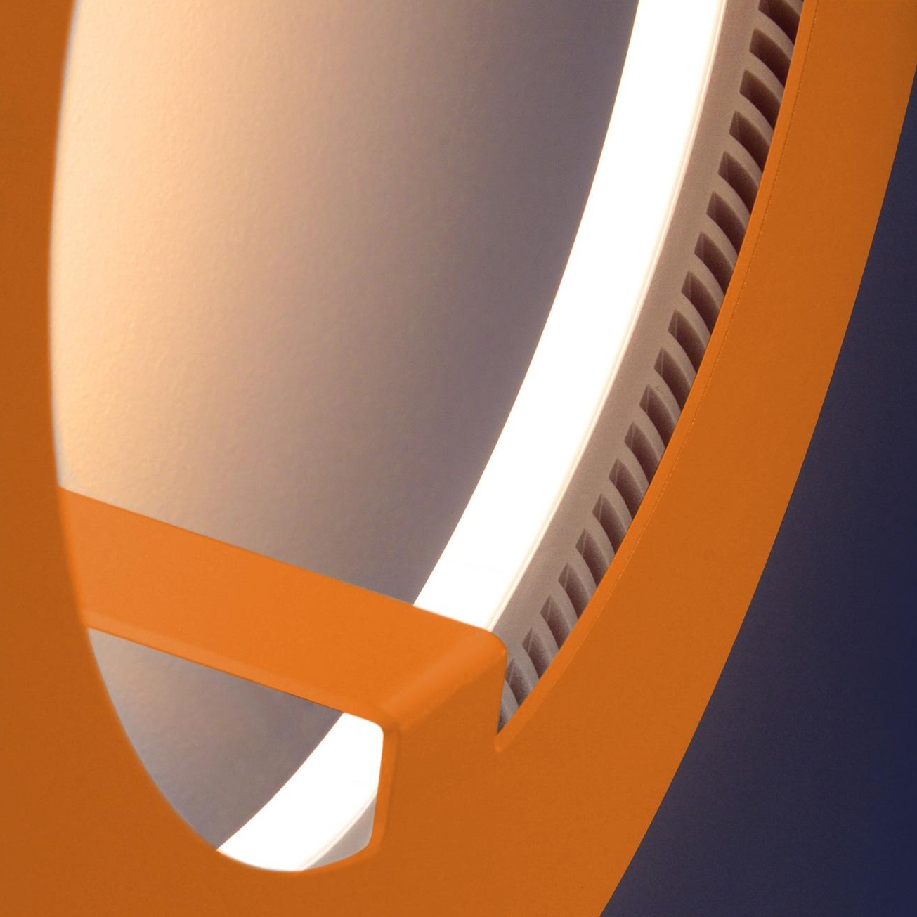 Radius - Absolut Circle LED - Applique murale - orange/dimmable/2300-2500K/Ø 33cm x 13cm