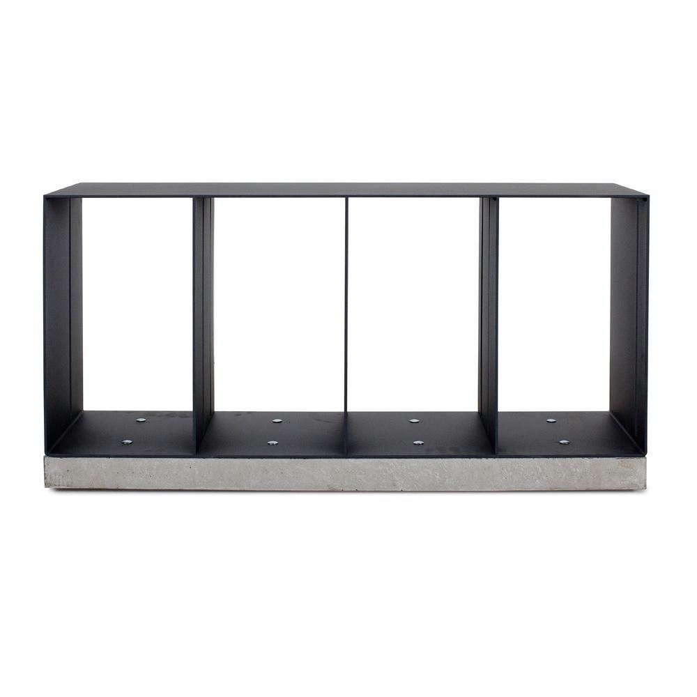 Röshults - Manhattan Sitzbank - anthrazit/LxBxH 93x30x45cm | Küche und Esszimmer > Sitzbänke > Einfache Sitzbänke | Röshults