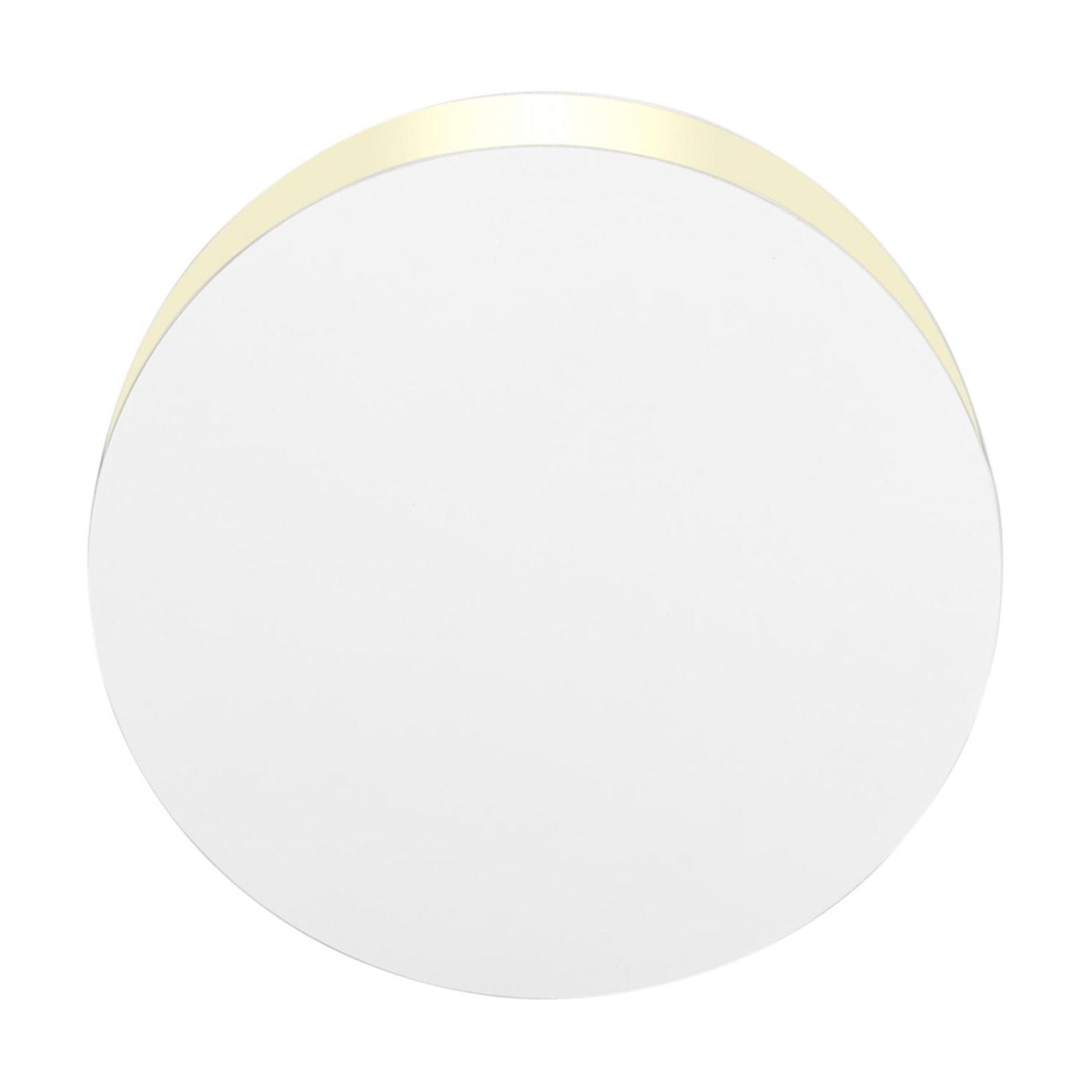 e15 - LT05 North - Applique murale LED - blanc/RAL 9003/Ø33cm