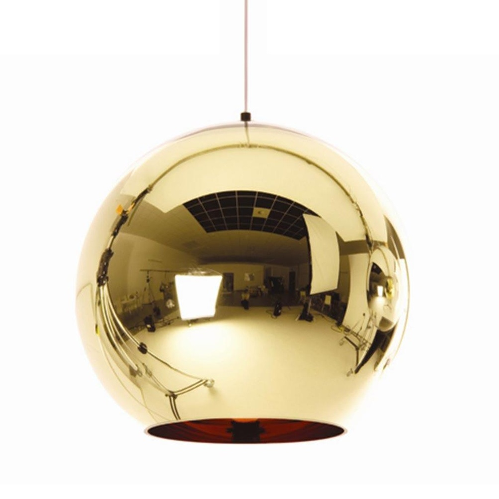 Tom Dixon - Copper Shade Suspension Lamp - bronze/glossy/Ã 45cm