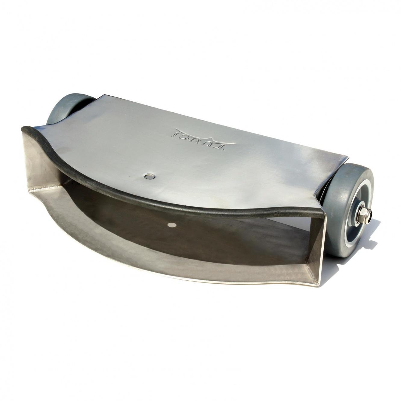 Tuuci - Rollwagen für G-Plate Schirmständer - edelstahl/für G-Plate Schirmständer/LxBxH 40|6x21|3x15cm | Garten > Sonnenschirme und Markisen > Sonnenschirmständer | Tuuci
