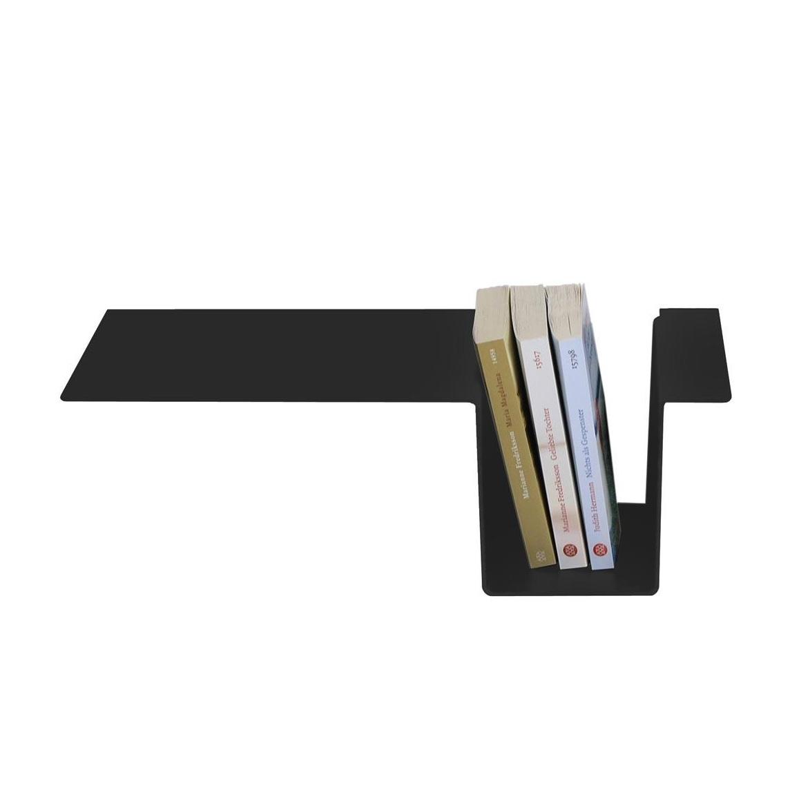 Moormann - Siebenschläfer Seitenablage - schwarz/eloxiert/zum einhängen | Schlafzimmer > Nachttische | Schwarz | Aluminum | Moormann