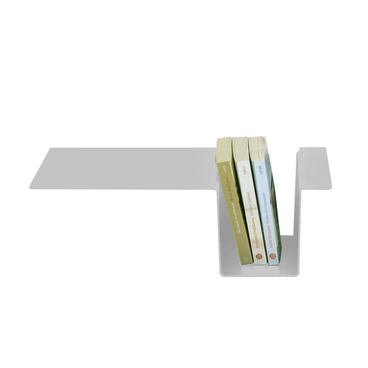 Moormann - Siebenschläfer Seitenablage - silber/eloxiert/zum einhängen | Schlafzimmer > Nachttische | Silber | Aluminum | Moormann
