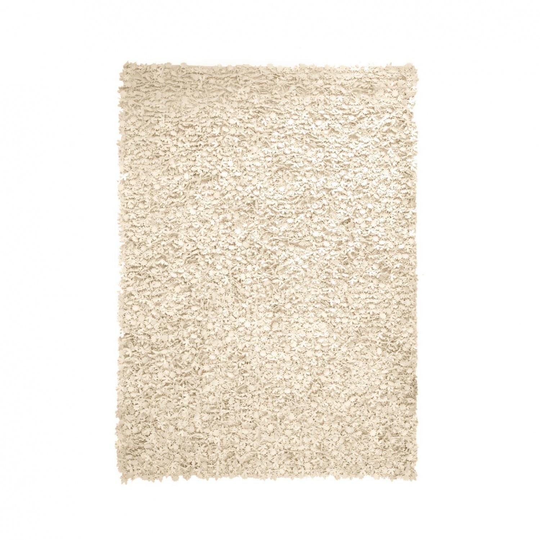 Nanimarquina - Little Field Of Flowers Teppich - Elfenbein/Filz/Wolle/170x240cm