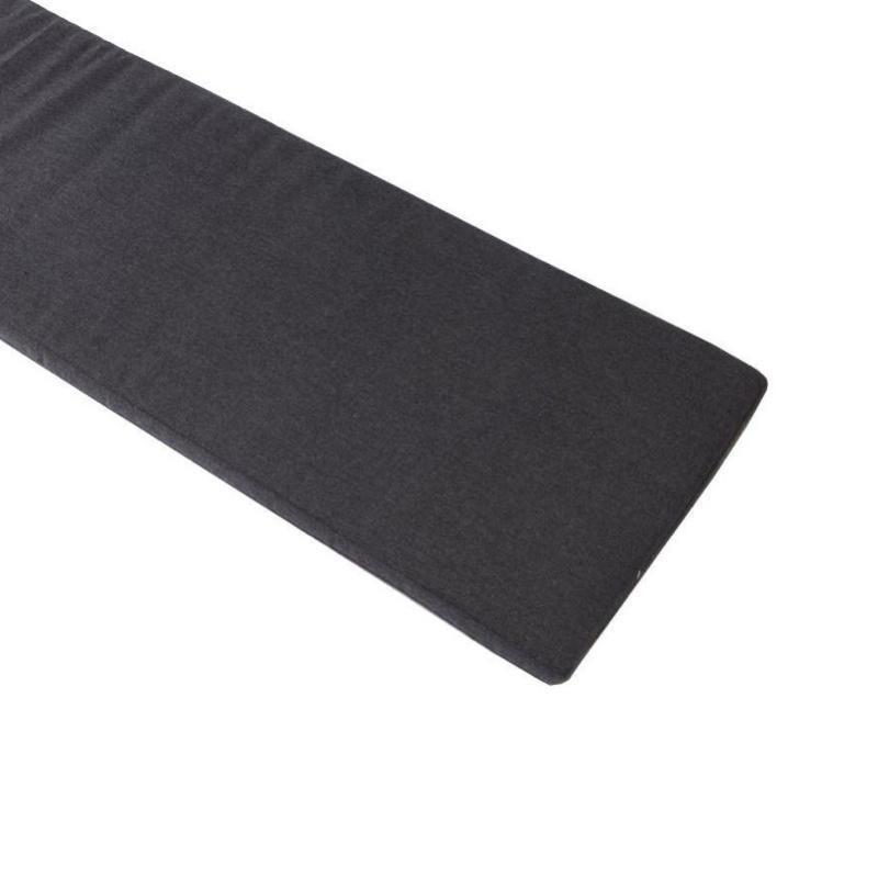 Conmoto - Riva Sitzauflage S - anthrazit/Sunbrella®-Stoff/spinndüsengefärbt/176x45cm/für Bank mit Rückenlehne S | Garten > Gartenmöbel > Sitzauflagen | Anthrazit | Sunbrella®-acryl | Conmoto