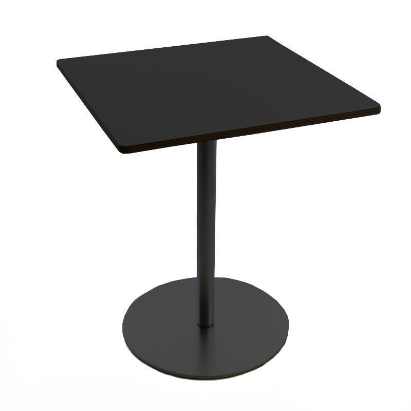 Lapalma - Brio Fix Bistrotisch Gestell schwarz H 72cm - schwarz/LxBxH 60x60x72cm/Tischplatte HPL | Kinderzimmer > Spielzeuge | Schwarz | Edelstahl| hpl | Lapalma