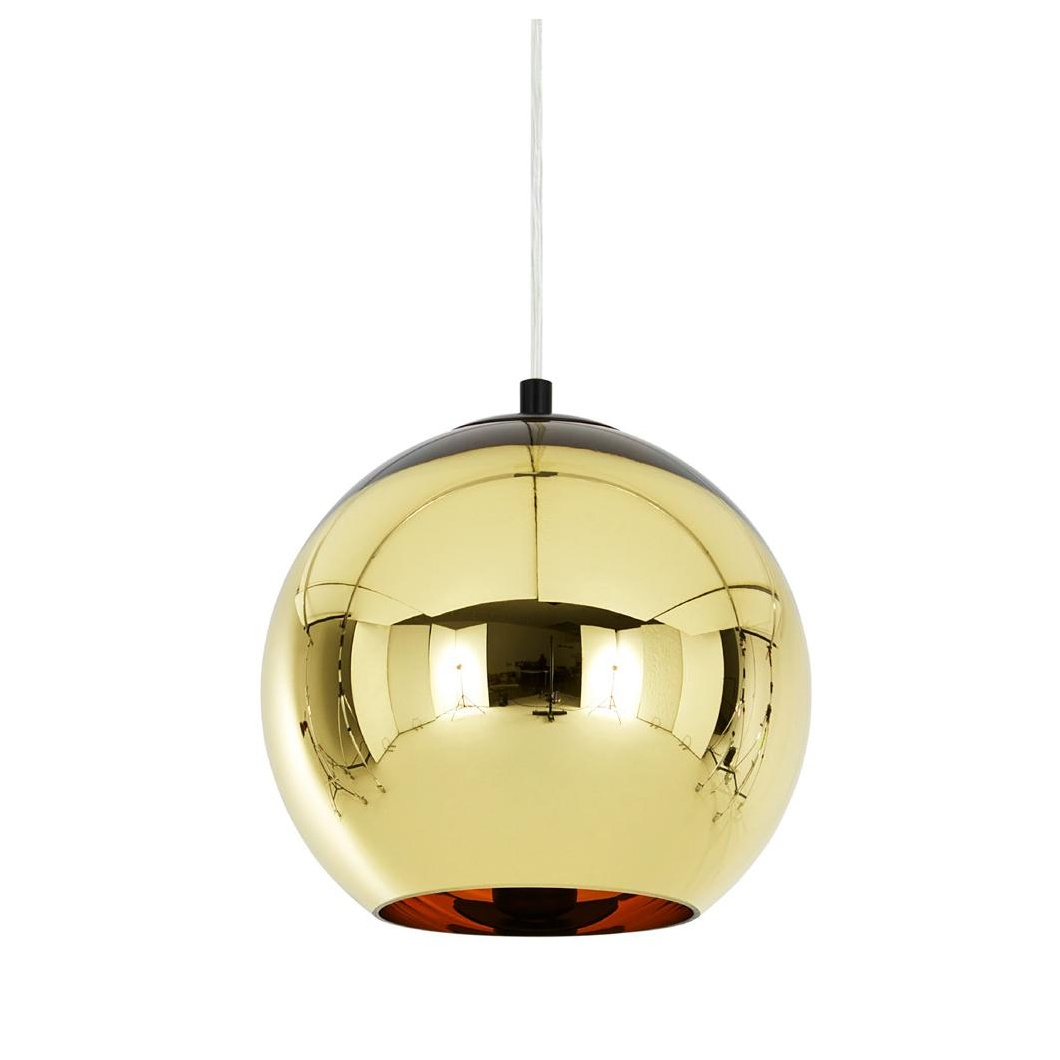 Tom Dixon - Copper Shade Suspension Lamp - bronze/glossy/Ã 25cm