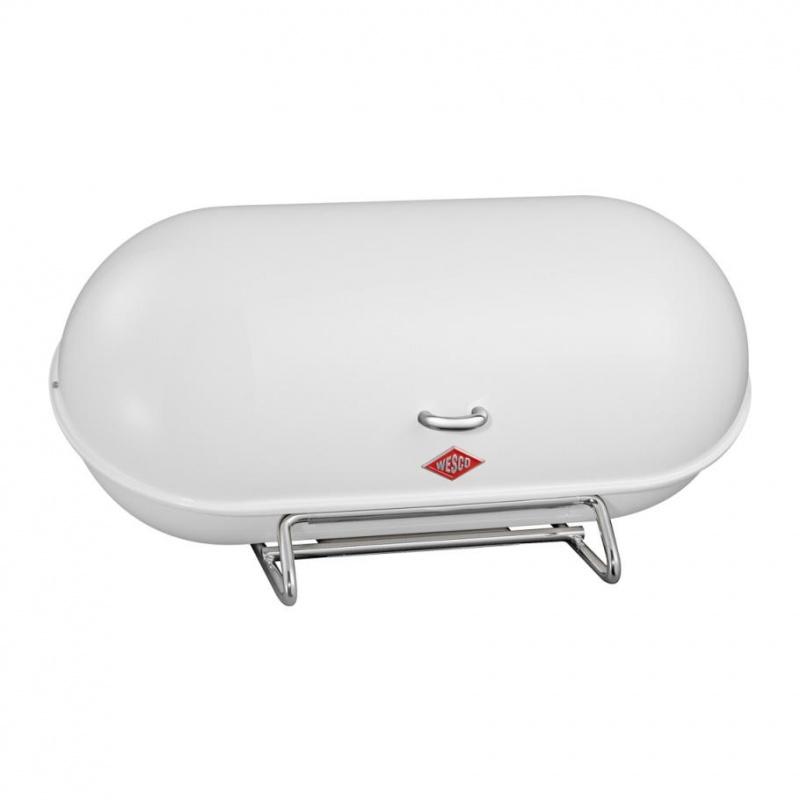 Wesco - Breadboy Brotkasten - weiß/Stahl | Küche und Esszimmer > Aufbewahrung > Brotkasten | Wesco