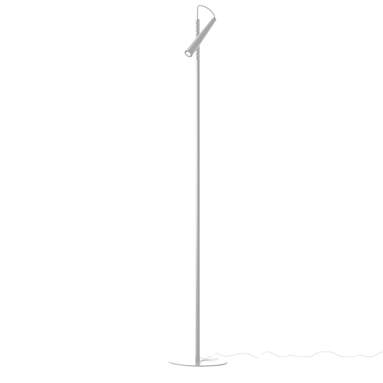 Foscarini - Magneto LED Leseleuchte - weiß/lackiert/H: 120cm/2700K/475lm   Lampen > Tischleuchten > Leseleuchten   Weiß   Plastik  metall   Foscarini
