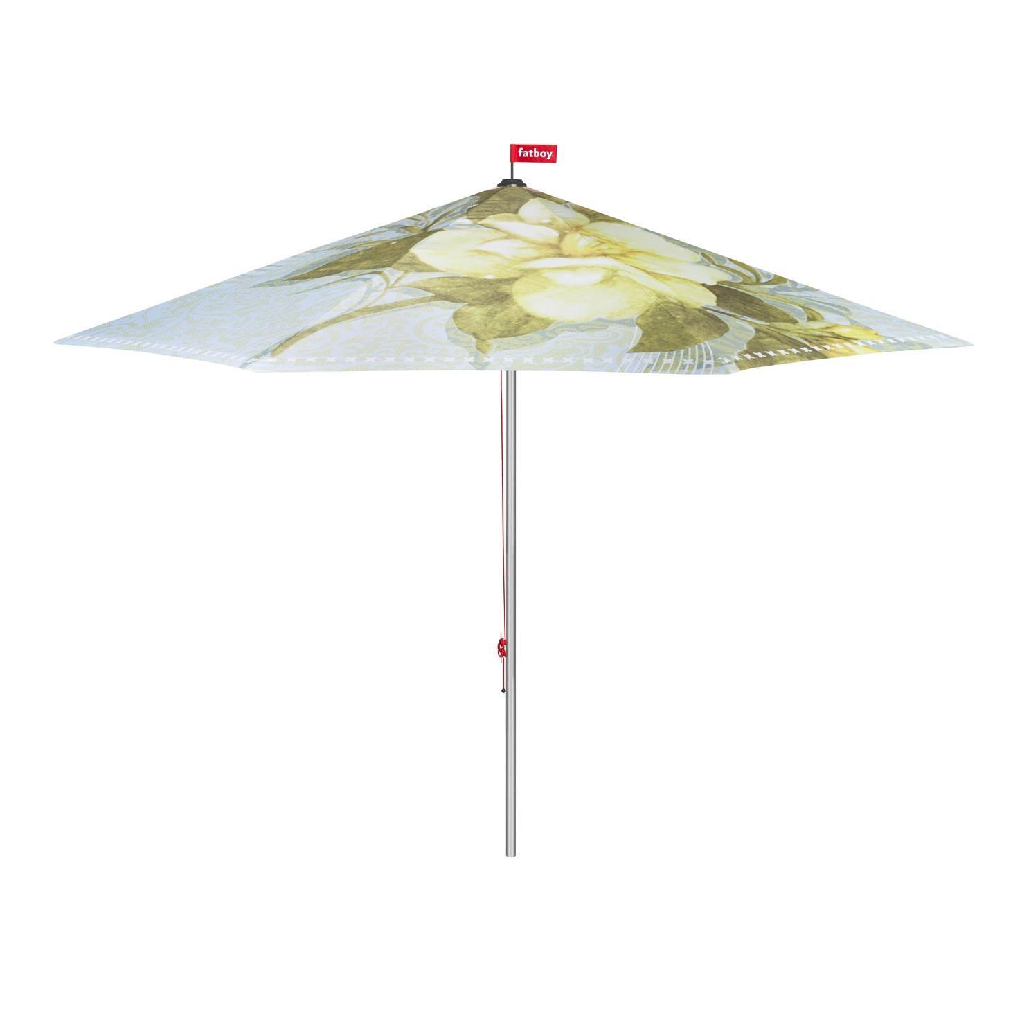 Fatboy Bouqetteketet Sonnenschirm - hellblau/gemustert/Ø350cm / H 265cm/Lieferung ohne Schirmständer | Garten > Sonnenschirme und Markisen | Fatboy
