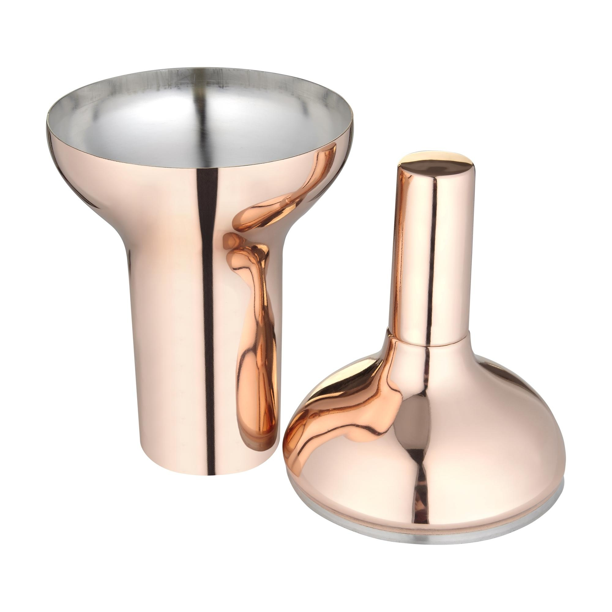 Tom Dixon - Plum Cocktail Shaker - copper/glossy/H 29cm/Ã 12cm