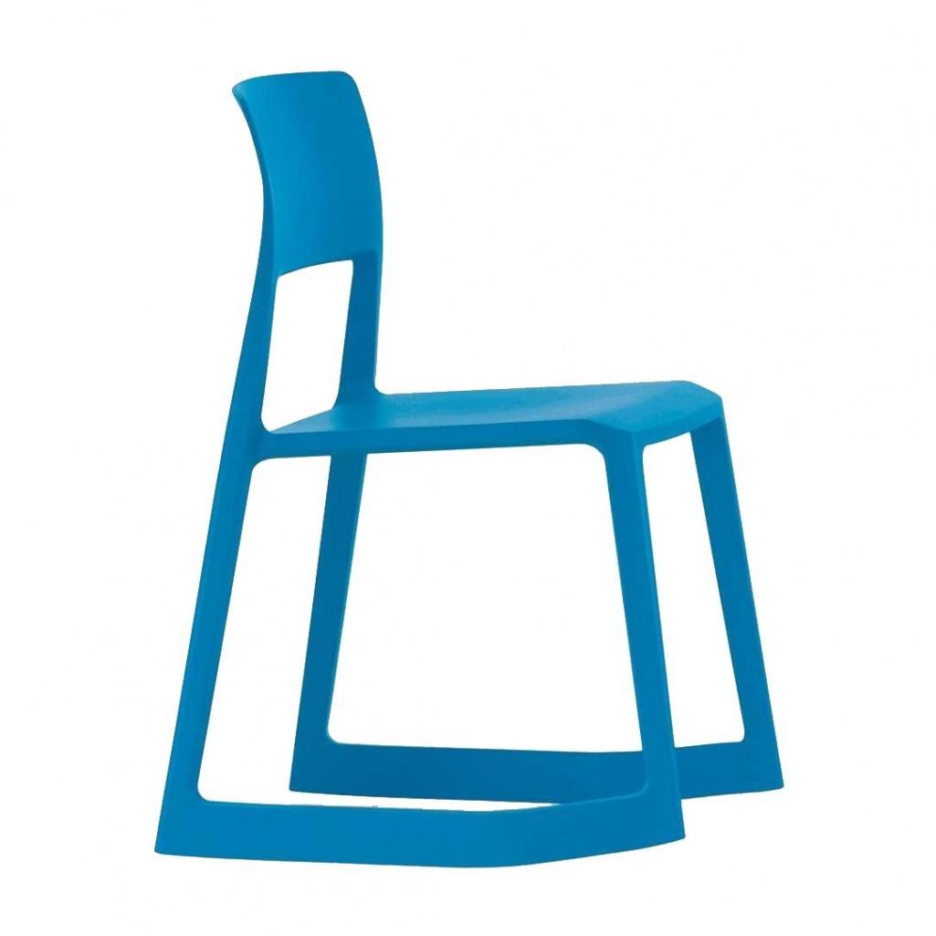 Vitra - Tip Ton Schaukelstuhl - gletscherblau   Wohnzimmer > Stüle > Schaukelstühle   Gletscherblau   Kunststoff polypropylen   Vitra