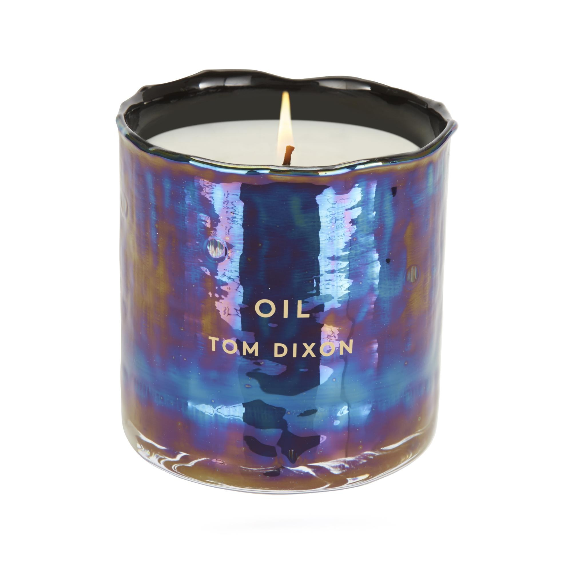 Tom Dixon - Scent Materialism Oil Candle Medium - iridescent/black/H 9.6cm/Ã 9 cm