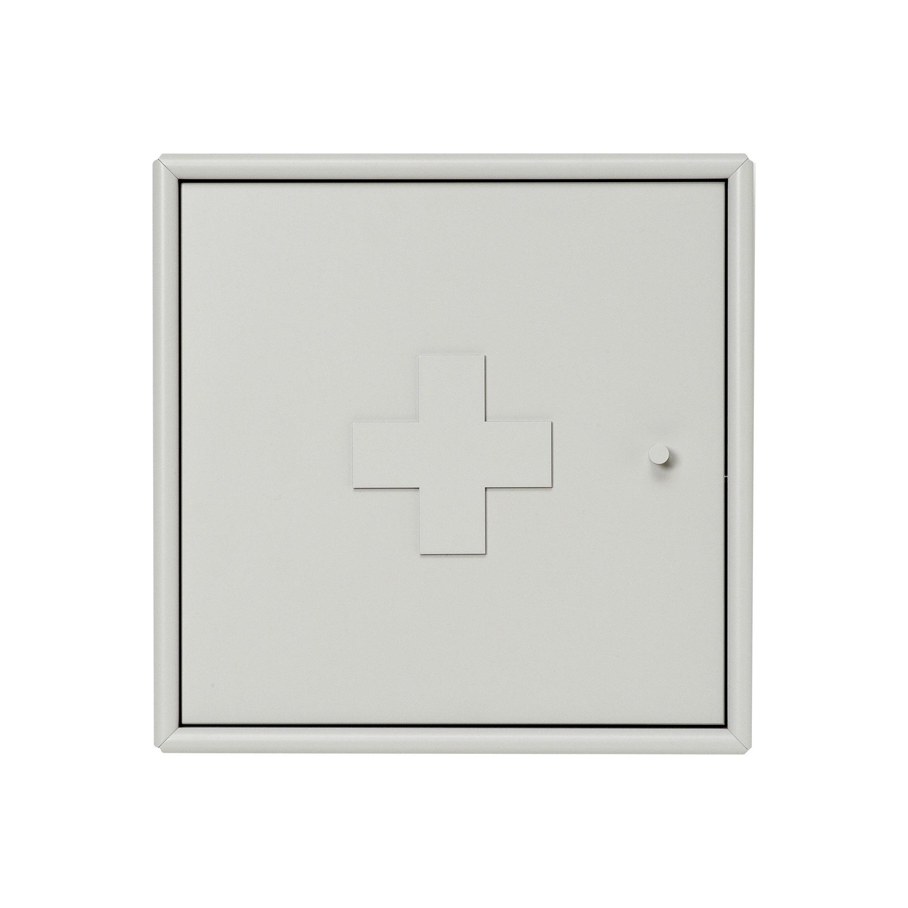 Montana - Aid Medizinschrank - nordic 09/lackiert/BxHxT 35|4x35|4x20cm/Incl. Wandaufhängung | Bad > Badmöbel > Medizinschränke | Montana