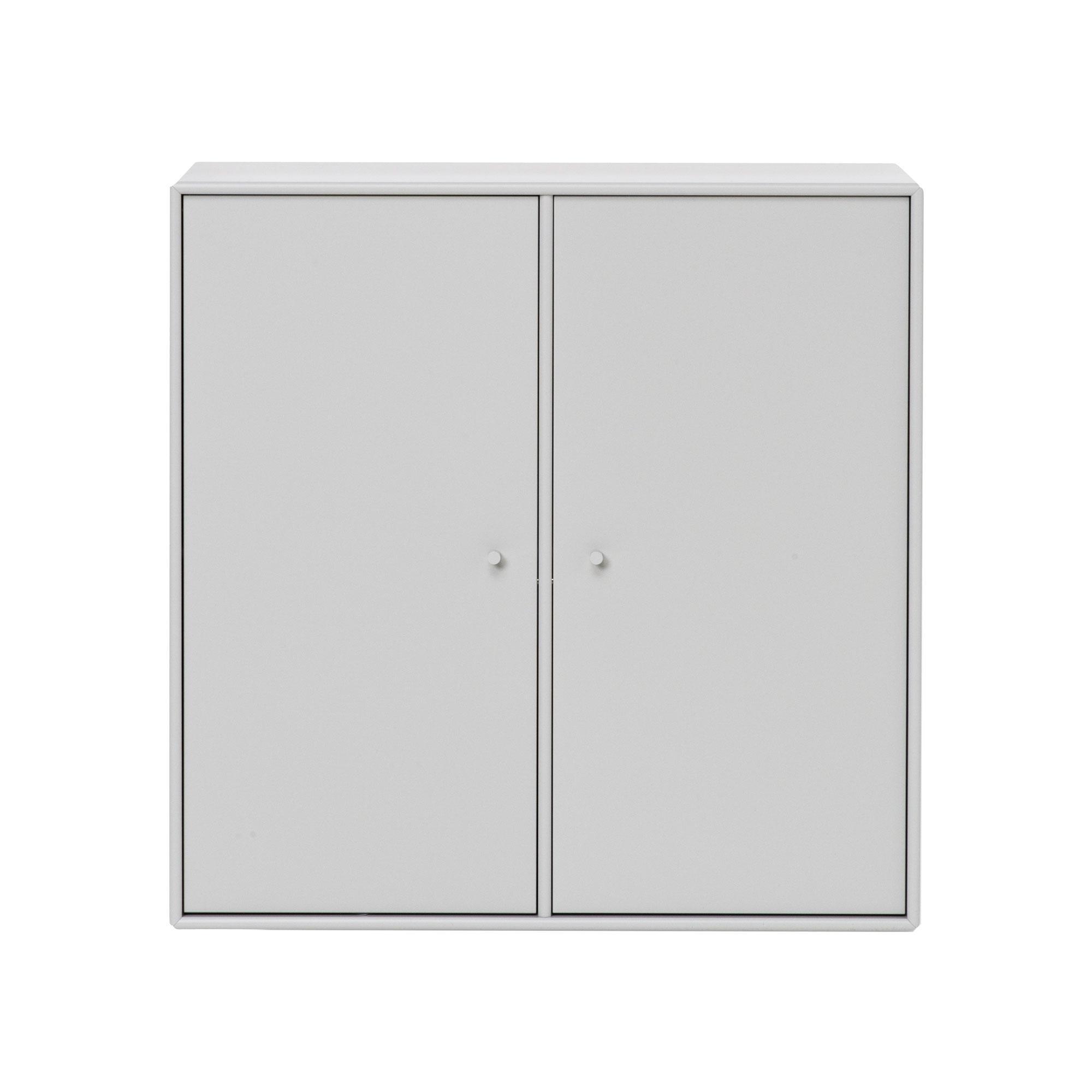 Montana - Cover Wandschrank 69 6x69 6x30cm - nordic 09/lackiert/mit Einlegeboden/Incl. Wandaufhängung   Wohnzimmer > Schränke > Weitere Schränke   Montana