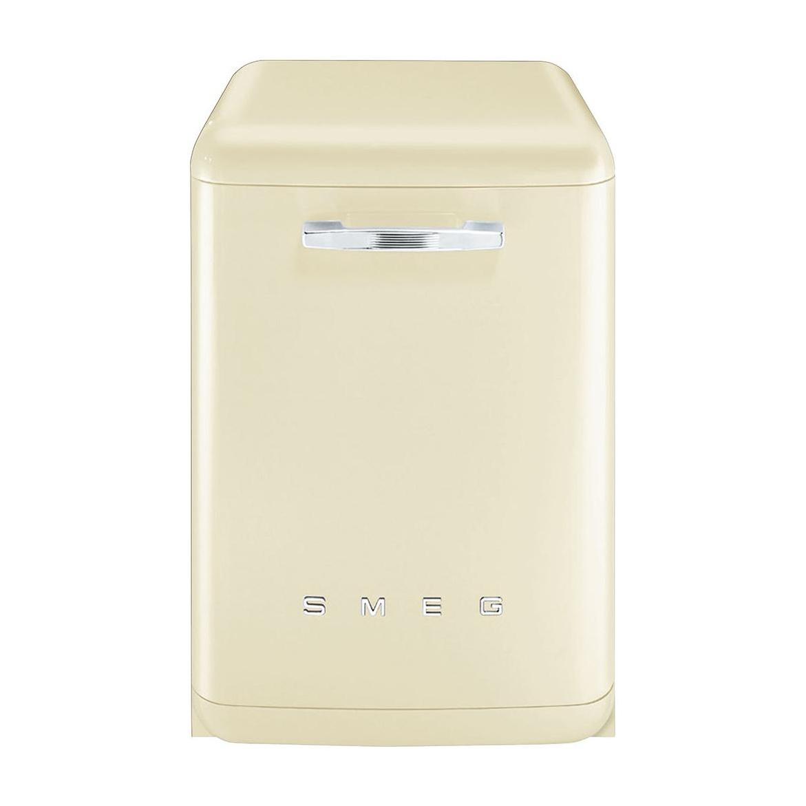 Smeg - LVFAB Standgeschirrspüler - creme/lackiert/59.8x88.5x67.5cm | Küche und Esszimmer > Küchenelektrogeräte > Gefrierschränke | Creme | Metall | Smeg
