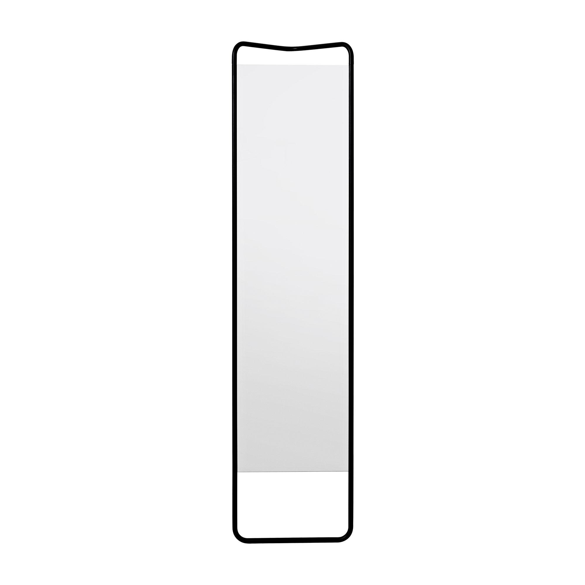 Menu - Kaschkasch Standspiegel H: 175cm - schwarz/pulverbeschichtet/BxHxT 42x175x20cm | Flur & Diele > Spiegel > Standspiegel | Schwarz | Pulverbeschichtetes aluminium| spiegelglas | Menu