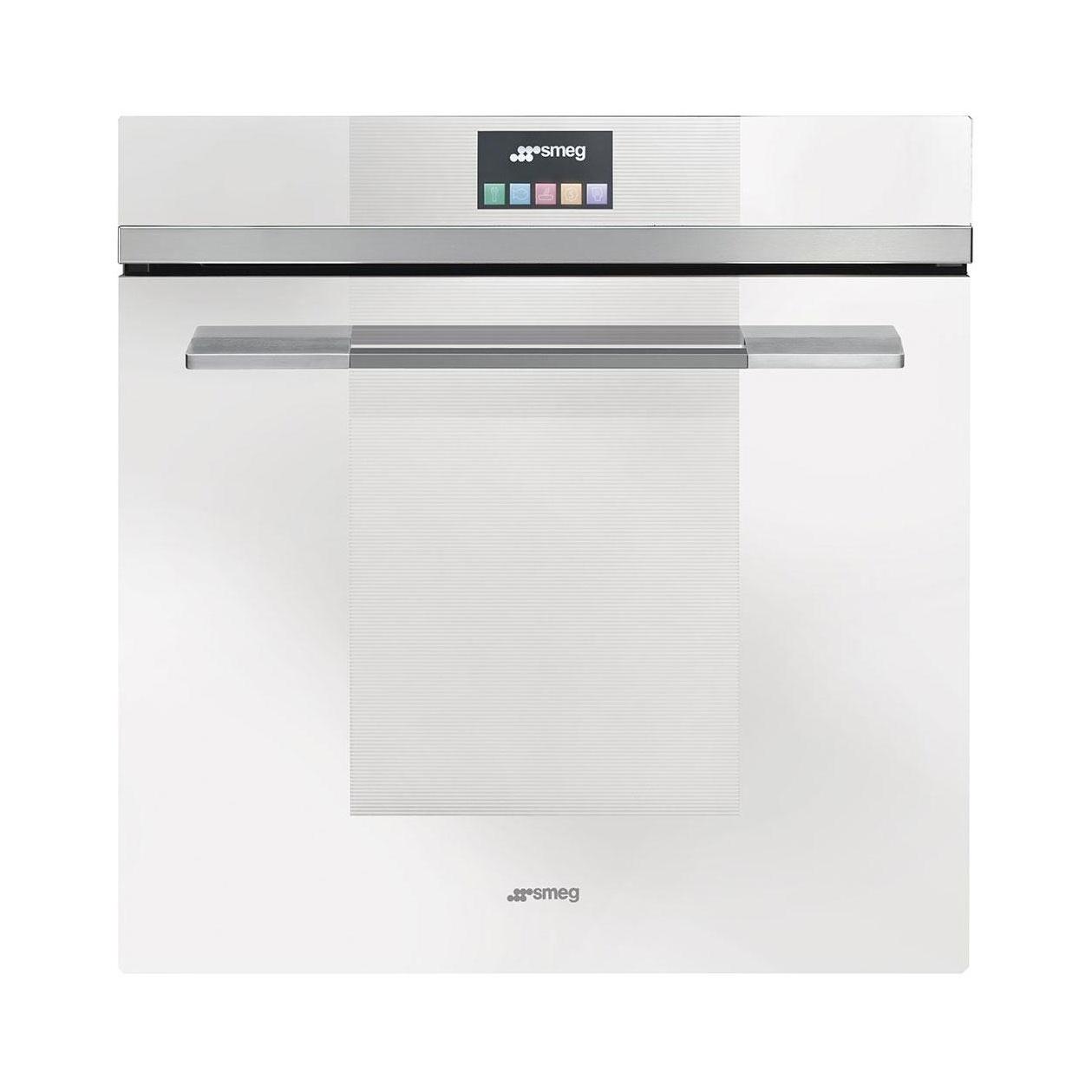 Smeg - SFP140BE Einbaubackofen - weiß | Küche und Esszimmer > Küchenelektrogeräte > Herde und Backöffenen | Weiß | Edelstahl | Smeg