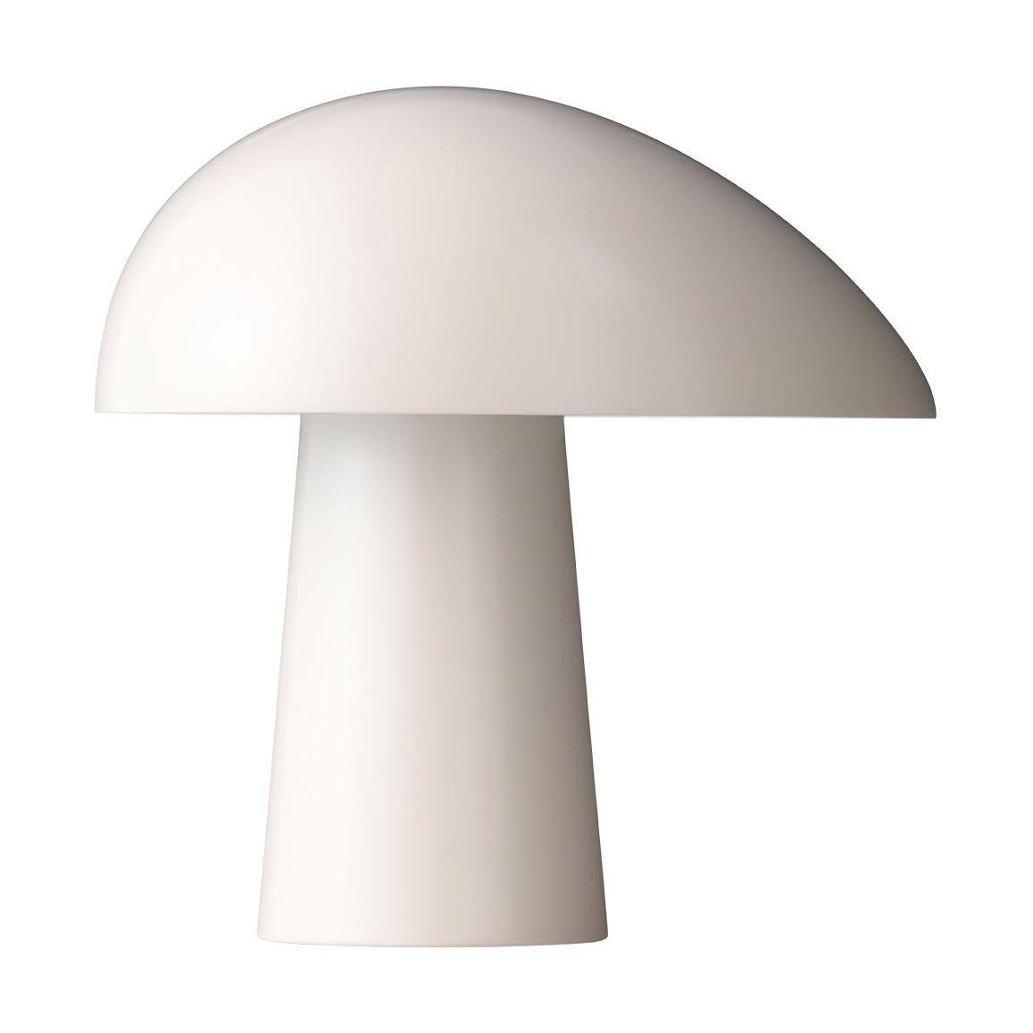 Fritz Hansen - Lampe de table Night Owl™ - blanc fumée/laqué/H 23,9cm / Ø 23,5cm/câble noir