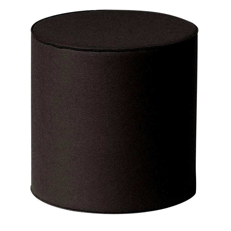 Hey-Sign - Rondo - Tabouret - noir/thickness 3mm