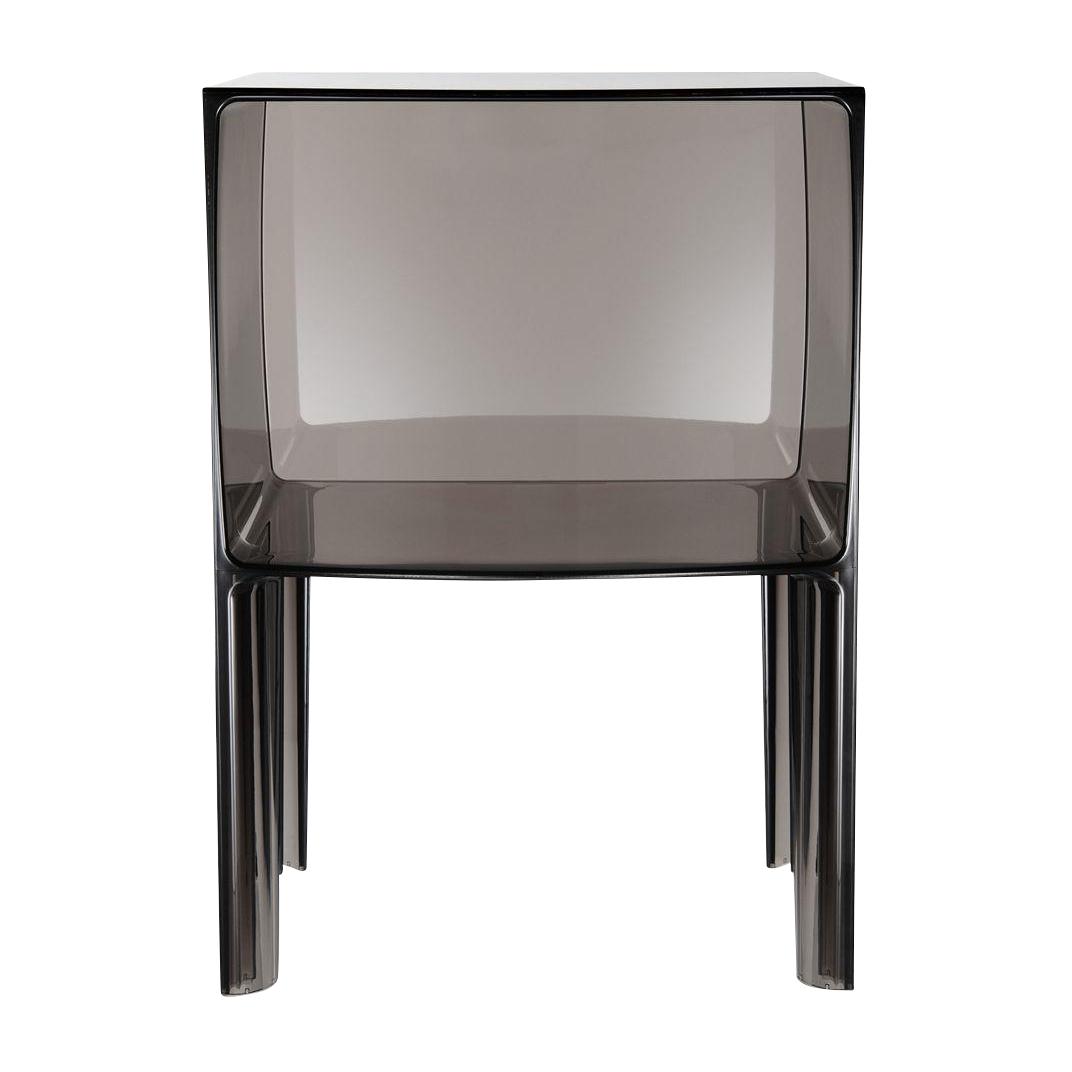 Kartell - Small Ghost Buster Nachttisch - rauchfarben/transparent | Schlafzimmer > Nachttische | Rauchfarben | Kunststoff | Kartell