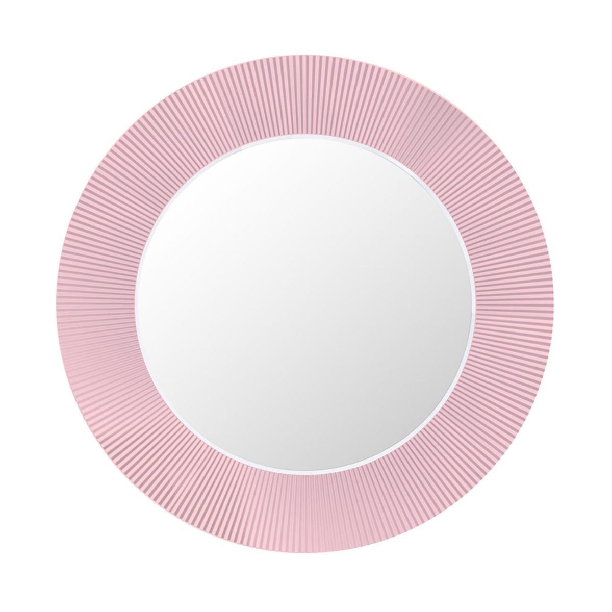 Kartell by Laufen All Saints Spiegel - pink nude/transparent/Ø78cm | Flur & Diele > Spiegel > Wandspiegel | Pink nude | Acrylglas | Kartell