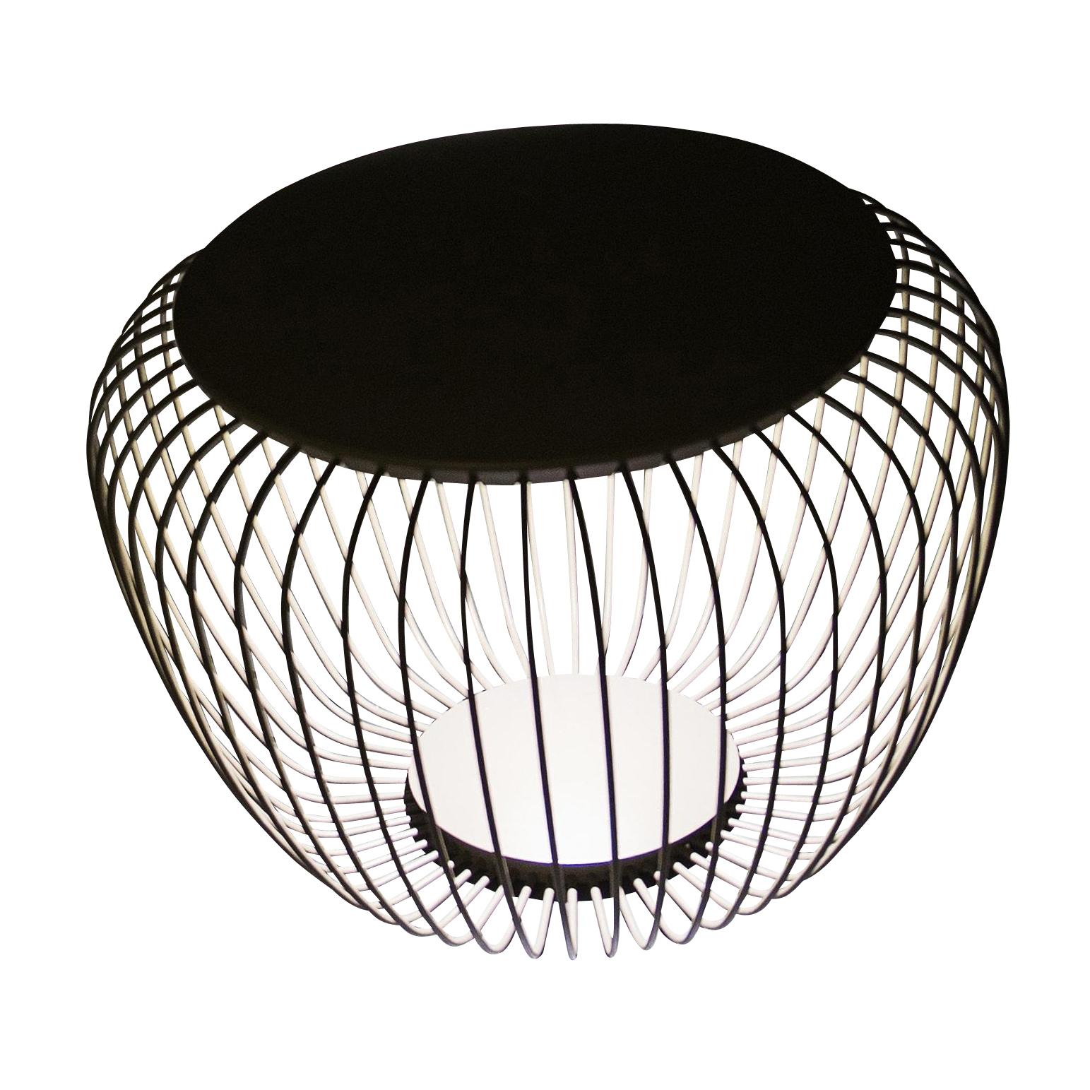 Vibia - Meridiano 4710 LED Außenbodenleuchte - khaki/matt/H 46cm / Ø 64cm/2700K/1041lm/CRI>80/ nicht dimmbar   Lampen > Aussenlampen > Bodeneinbauleuchten   Khaki   Polyurethanschaum  edelstahl  glas   Vibia