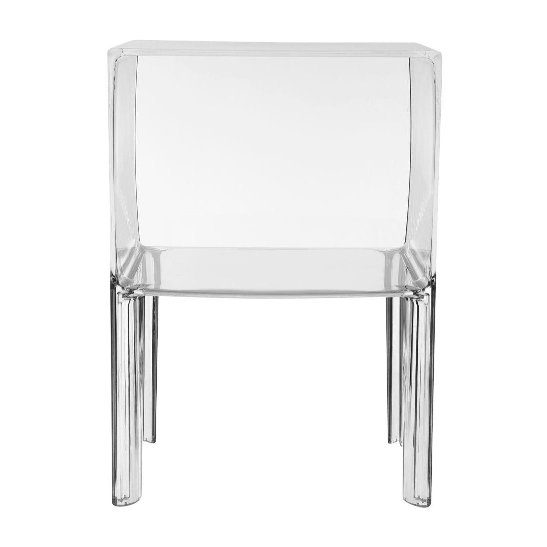 Kartell - Small Ghost Buster Nachttisch - transparent/transparent | Schlafzimmer > Nachttische | Transparent | Kunststoff | Kartell