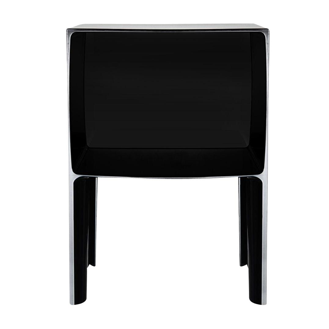 Kartell - Small Ghost Buster Nachttisch - schwarz/blickdicht | Schlafzimmer > Nachttische | Schwarz | Kunststoff | Kartell