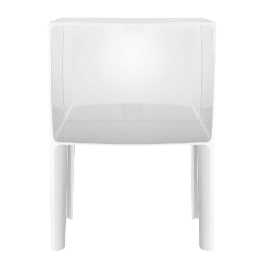 Kartell - Small Ghost Buster Nachttisch - weiß/blickdicht | Schlafzimmer > Nachttische | Weiß | Kunststoff | Kartell