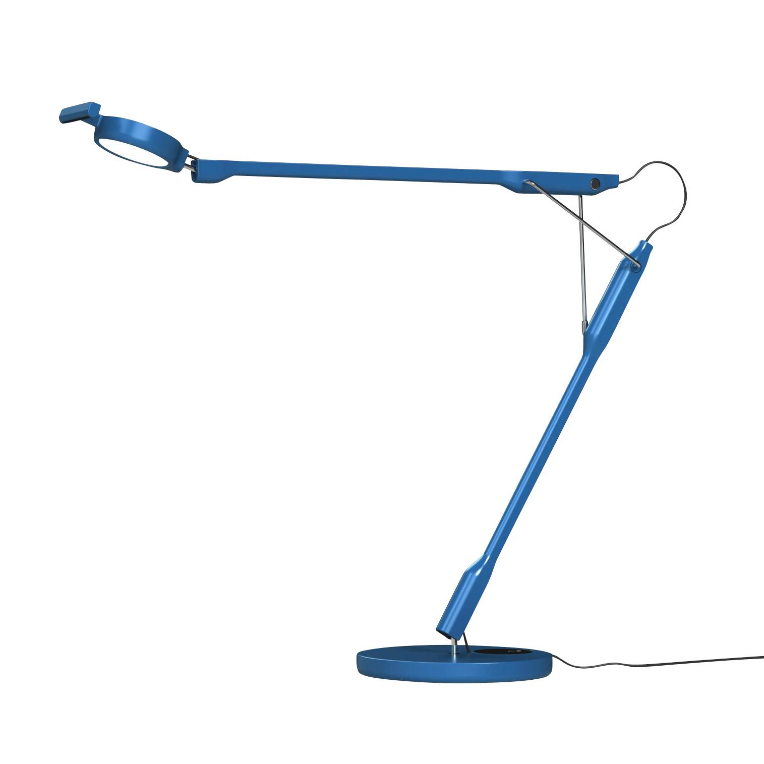Luceplan - Tivedo D83 LED Schreibtischleuchte dimmbar - hellblau/matt/3000K/523lm/stufenlos dimmbar am Leuchtenkopf   Lampen > Bürolampen > Schreibtischlampen   Luceplan