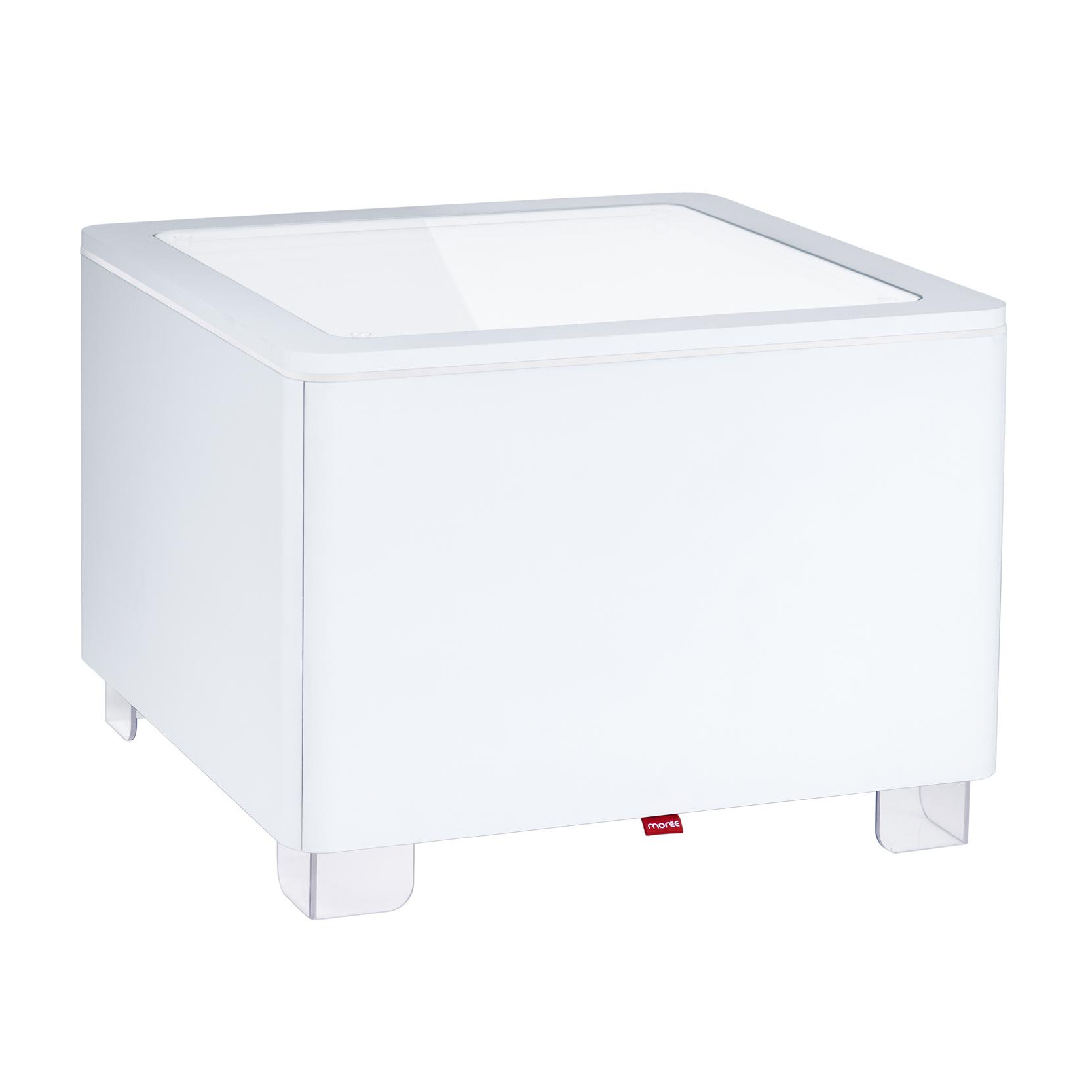 Moree - Ora LED Table d'appoint - blanc/with remote control/Multicolour LED/L x B x H: 60 x60 x 45cm/3m cable