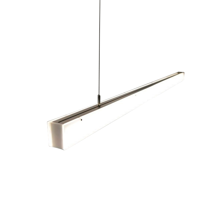 Radius - Absolut L-Series LED - Suspension - opalin/mat/122 x 5.5 x 4.5cm/1620 lm, 3000 k