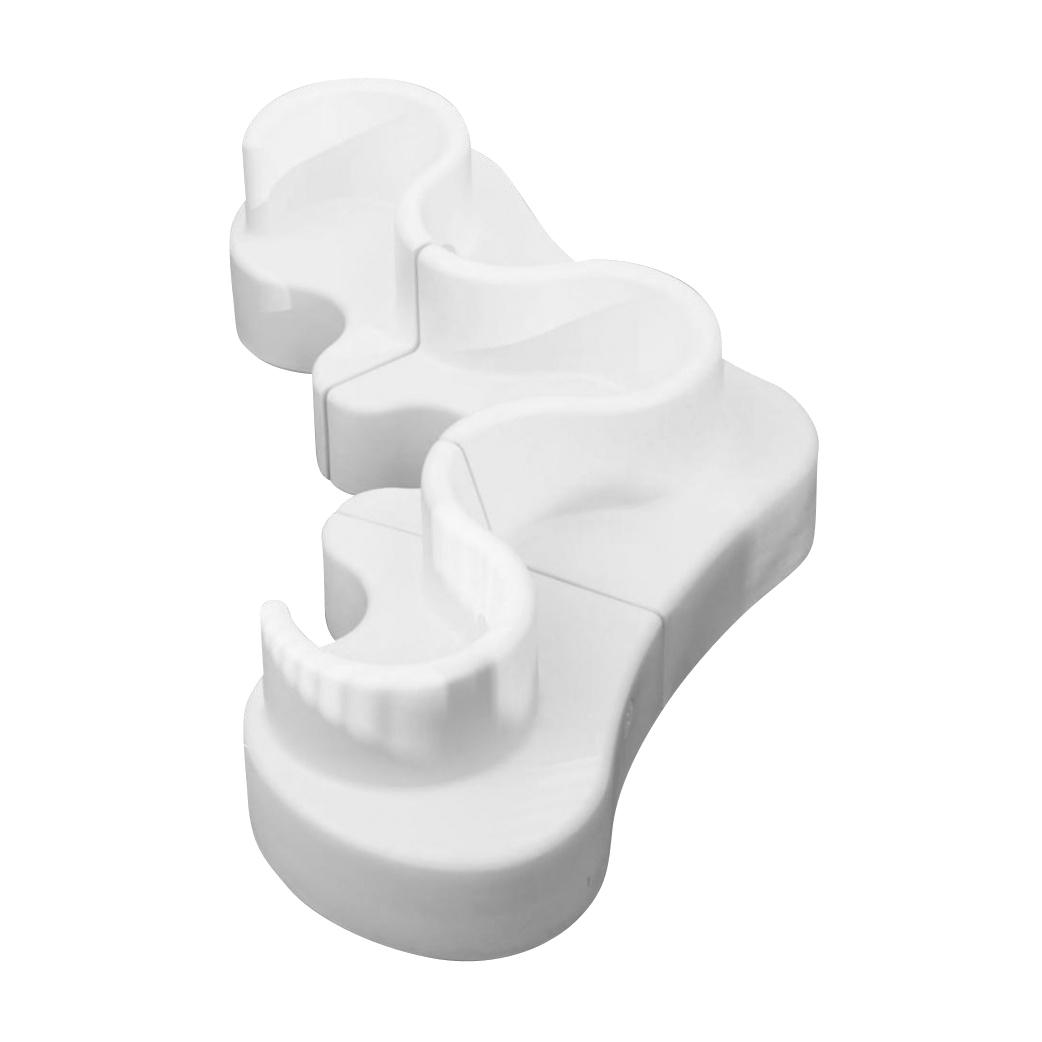 VerPan - Cloverleaf In/Outdoor - Canapé 371x158x80cm - blanc/3 eléments/UV-résistant/100% recyclable