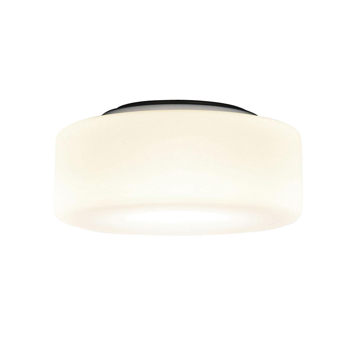 Deckenlampe Ivanka Glas amber Maritim Lampenwelt Deckenleuchte 30 cm E27