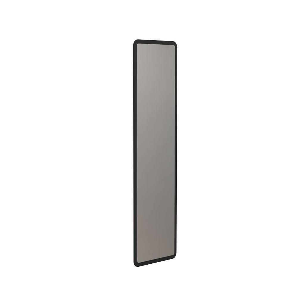 FROST - Bukto Spiegel Rechteckig - schwarz/BxH 30x105|8cm | Flur & Diele > Spiegel > Wandspiegel | Schwarz | Edelstahl | FROST