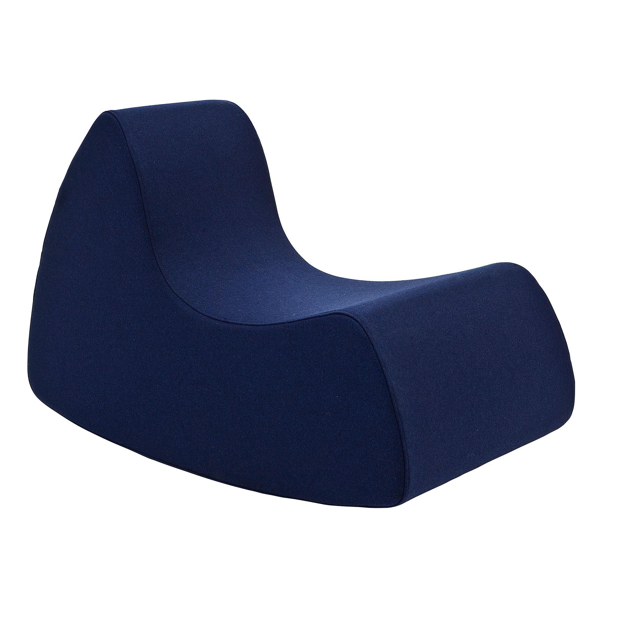 Softline - Grand Prix Kindersessel - dunkelblau/Stoff Filz 859/50x53x80cm | Kinderzimmer > Kindersessel & Kindersofas | Softline