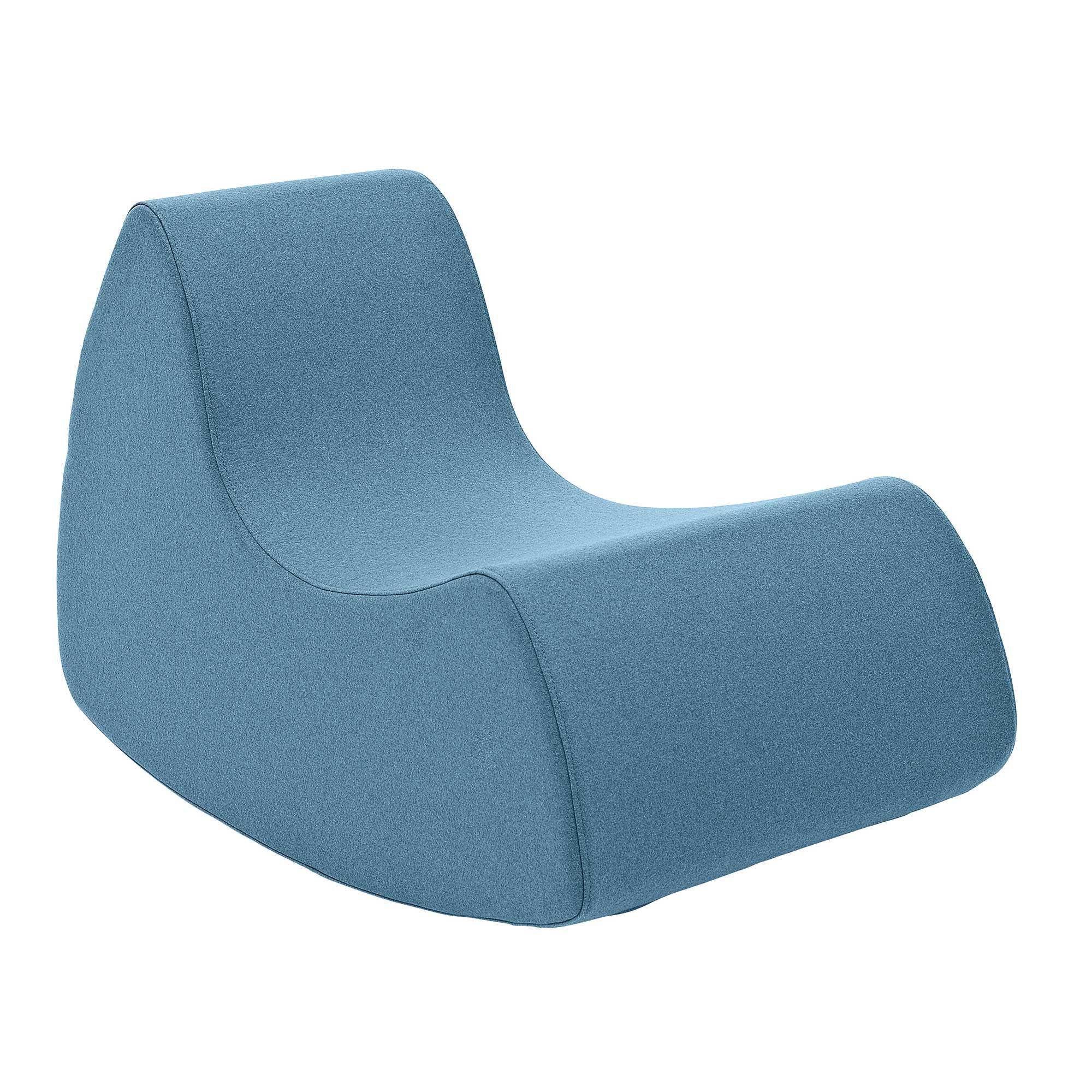 Softline - Grand Prix Kindersessel - hellblau/Stoff Filz 858/50x53x80cm | Kinderzimmer > Kindersessel & Kindersofas | Hellblau | Baumwolle| polyurtehanschaum | Softline