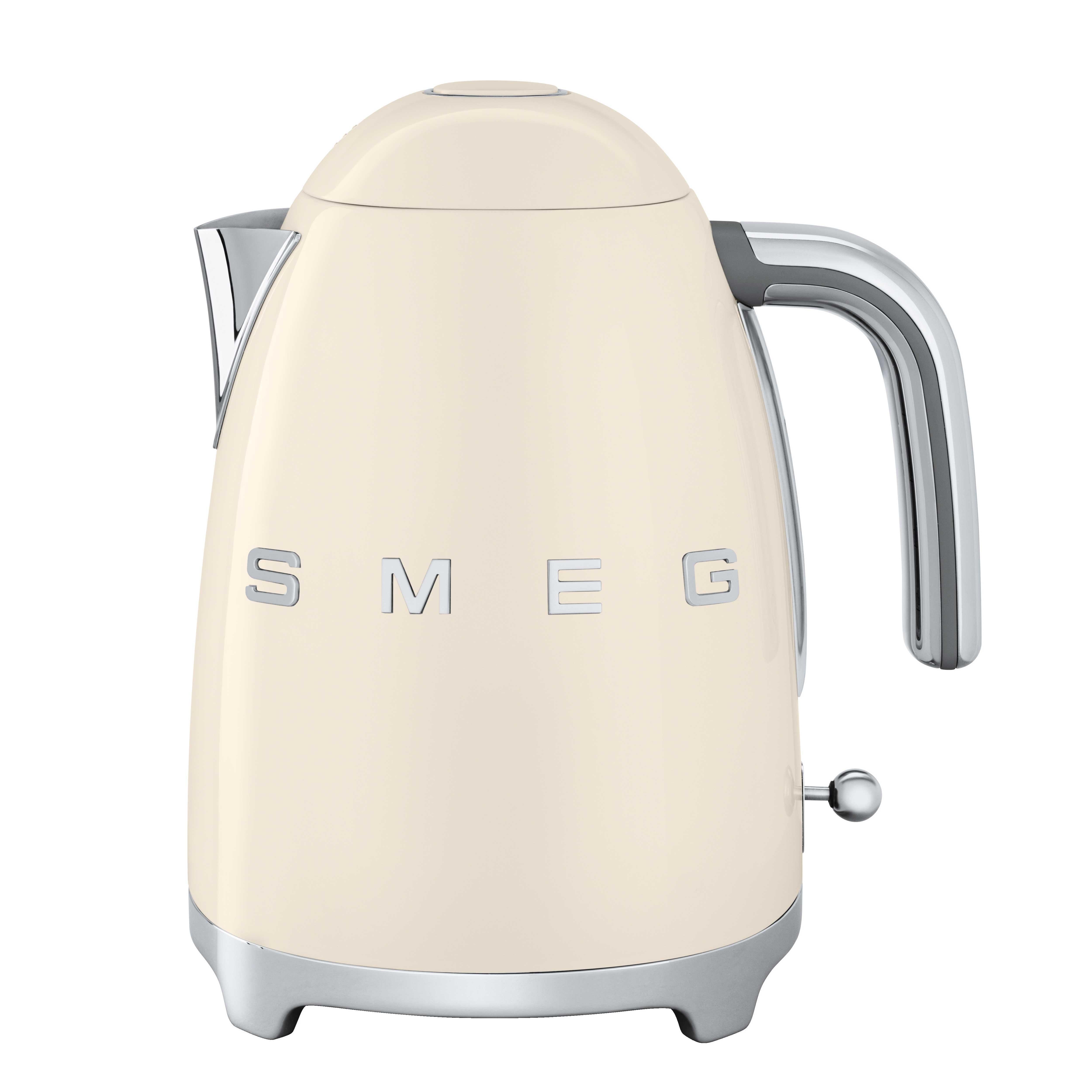 Smeg - KLF03 Wasserkocher 1 7L - creme/lackiert/BxHxT 22 3x24 8x17 1cm/integriertes Heizelement/Soft-Opening   Küche und Esszimmer > Küchengeräte   Smeg