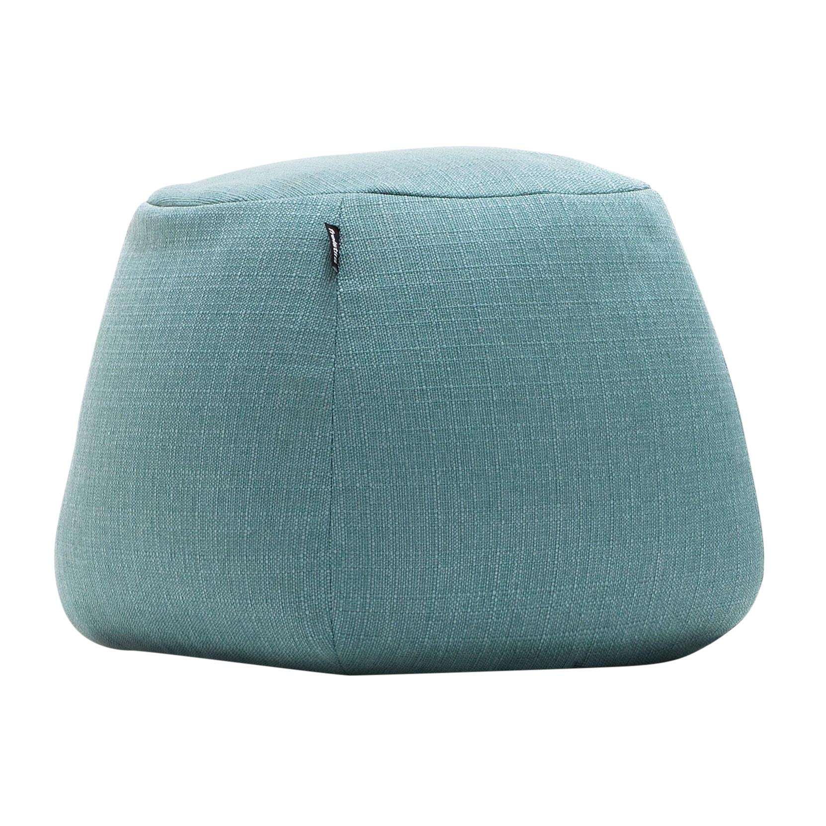freistil Rolf Benz - freistil 173 - Pouf - turquoise pastel/étoffe 1031 (100% polyester)/rond Ø55cm/H 37cm