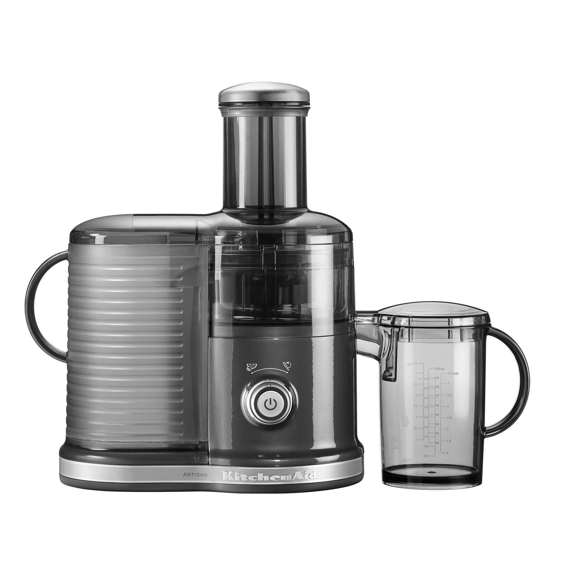 KitchenAid - Artisan 5KVJ0332 Zentrifugal Entsafter - medallion silber | Küche und Esszimmer > Küchengeräte > Entsafter | Medallion silber | Metall| plastik bpa frei | KitchenAid