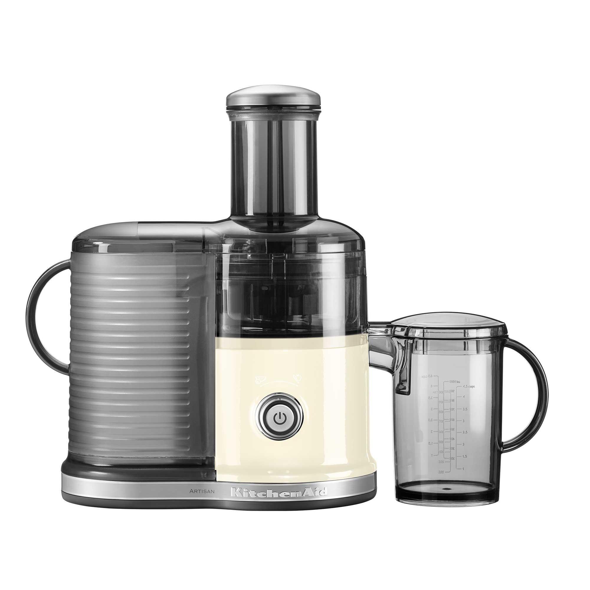 KitchenAid - Artisan 5KVJ0332 Zentrifugal Entsafter - creme | Küche und Esszimmer > Küchengeräte > Entsafter | Creme | Metall| plastik bpa frei | KitchenAid