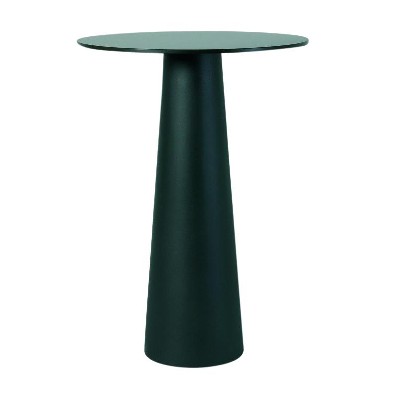 Moooi Container Tisch rund schwarzLaminatØ 70cmH100cm