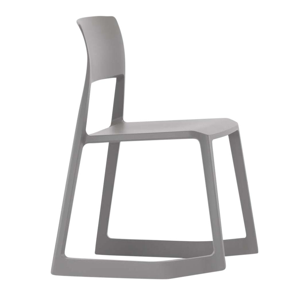 Vitra - Tip Ton Schaukelstuhl - erdgrau | Wohnzimmer > Stüle | Erdgrau | Kunststoff polypropylen | Vitra