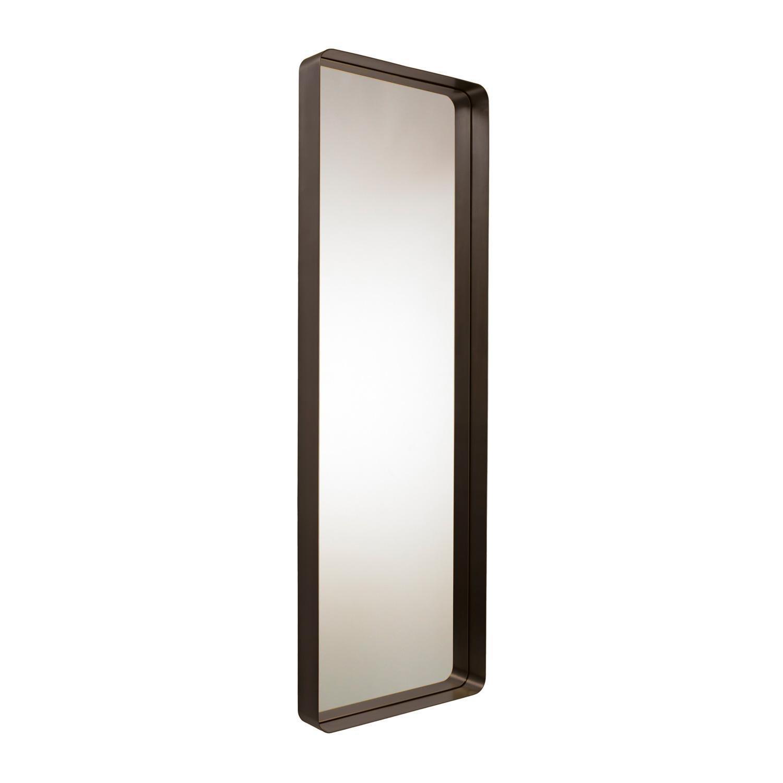ClassiCon - Cypris Wandspiegel rechteckig - Messing brüniert/Kristallglas/180x60cm | Flur & Diele | ClassiCon