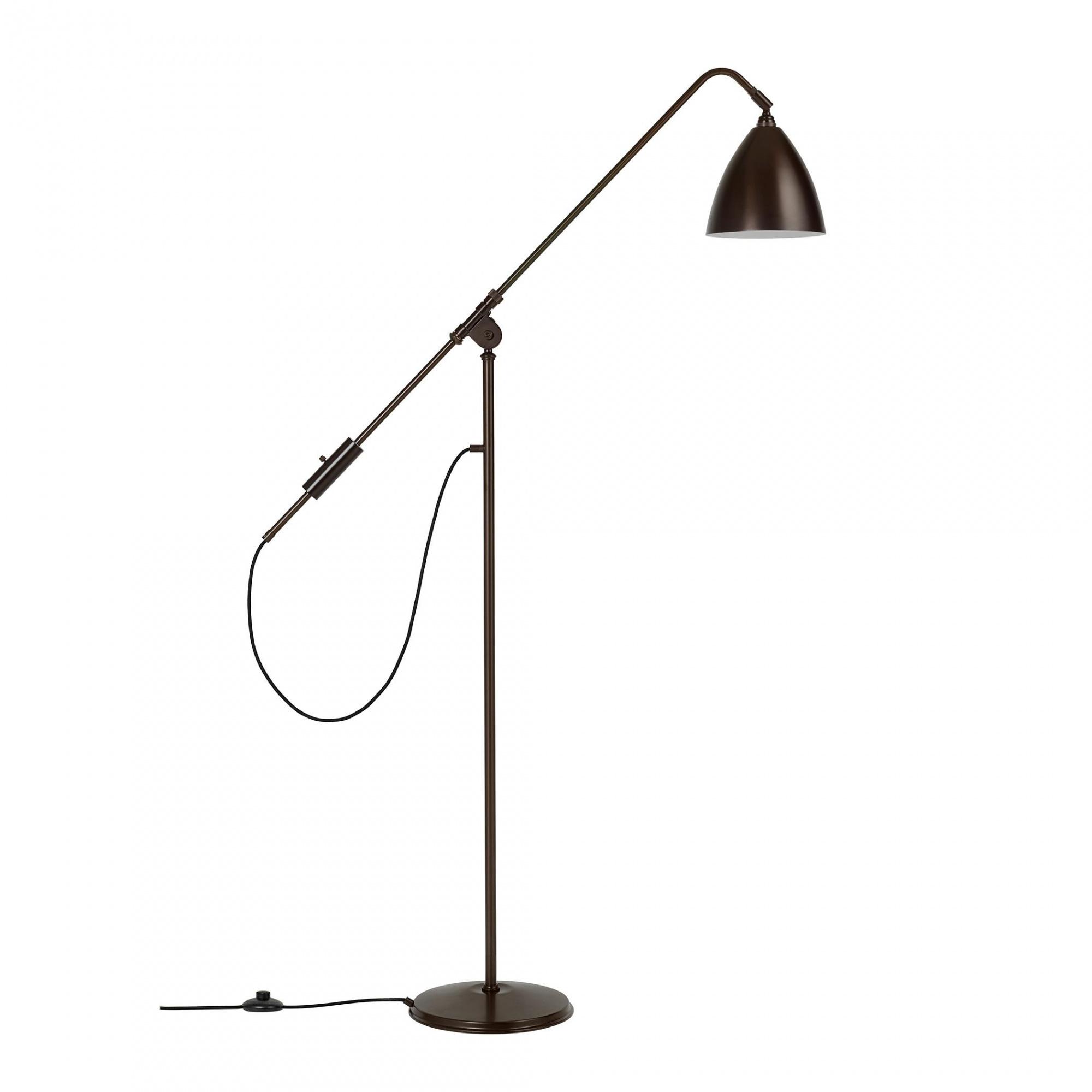 Stehlampe messing 210 cm PAROO