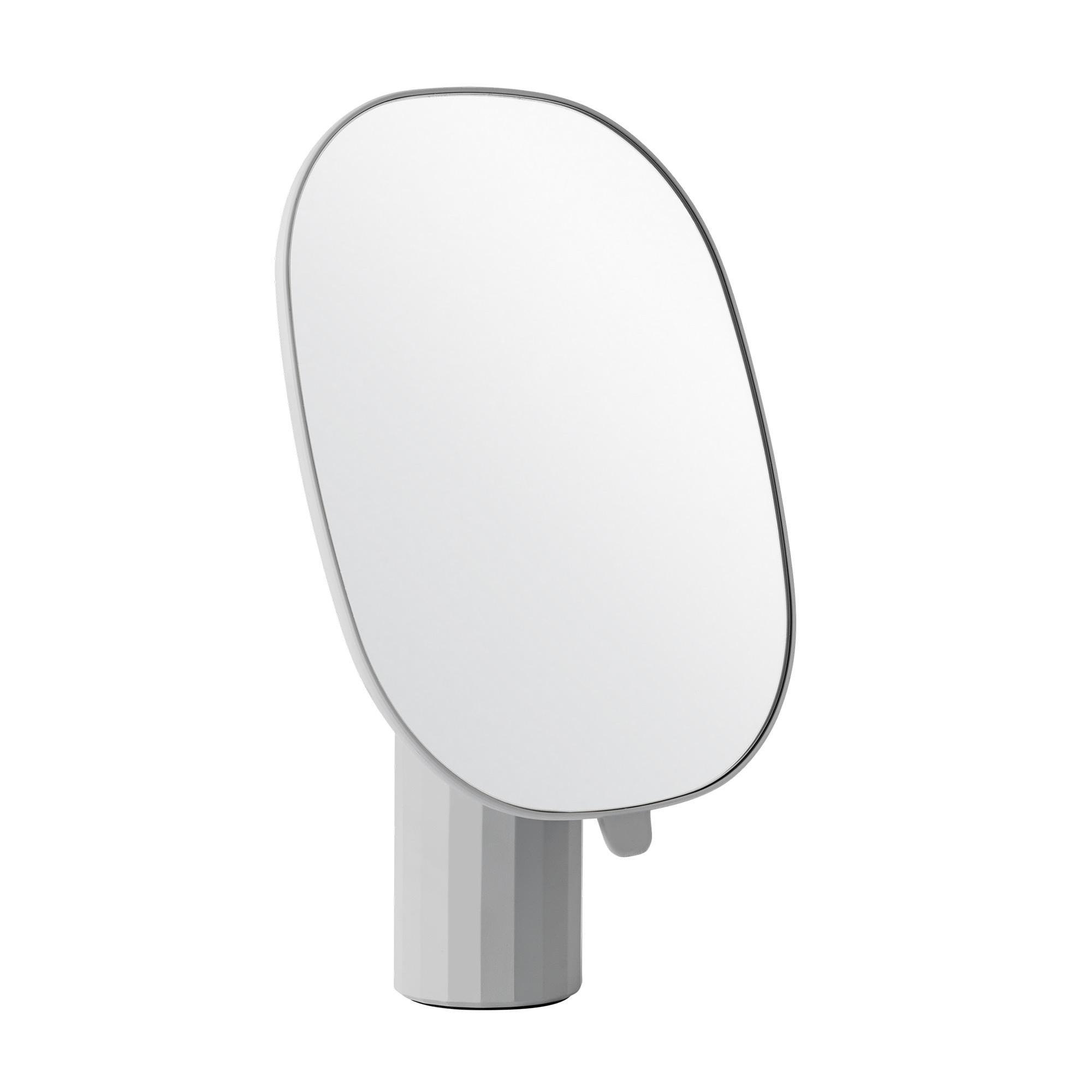 Muuto - Mimic Tischspiegel - grau/BxH 25x35cm | Flur & Diele > Spiegel > Standspiegel | Grau | Harz| abs | Muuto