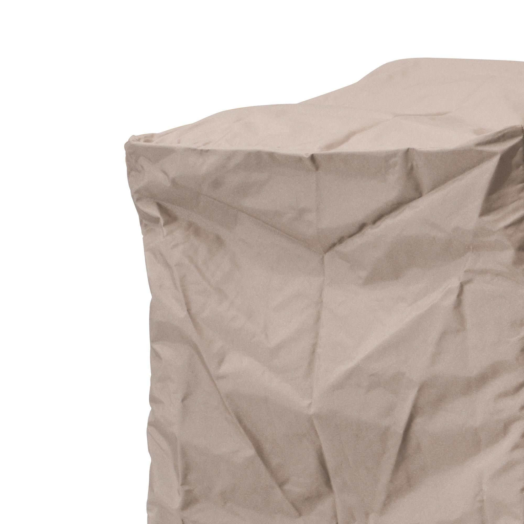 Kettal - Abdeckhaube für Pouf/Beistelltisch - braun/für alle Poufs/ Beistelltische | Garten > Gartenmöbel > Schutzhüllen | Braun | Kunststoff | Kettal