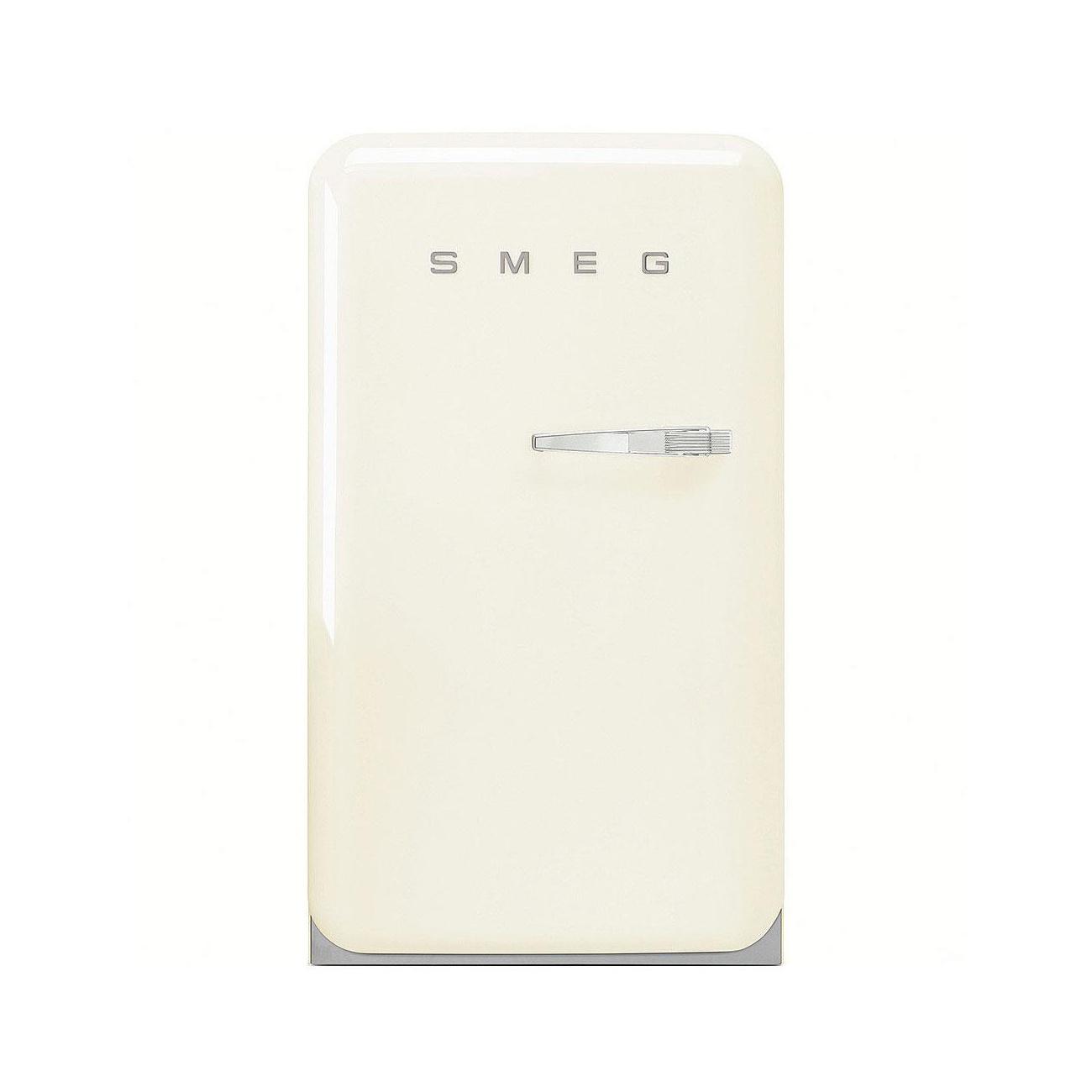 Smeg - FAB10H Standkühlschrank Happy Homebar - creme/lackiert/Linksanschlag | Küche und Esszimmer > Küchenelektrogeräte > Kühlschränke | Creme | Metall| kunststoff | Smeg