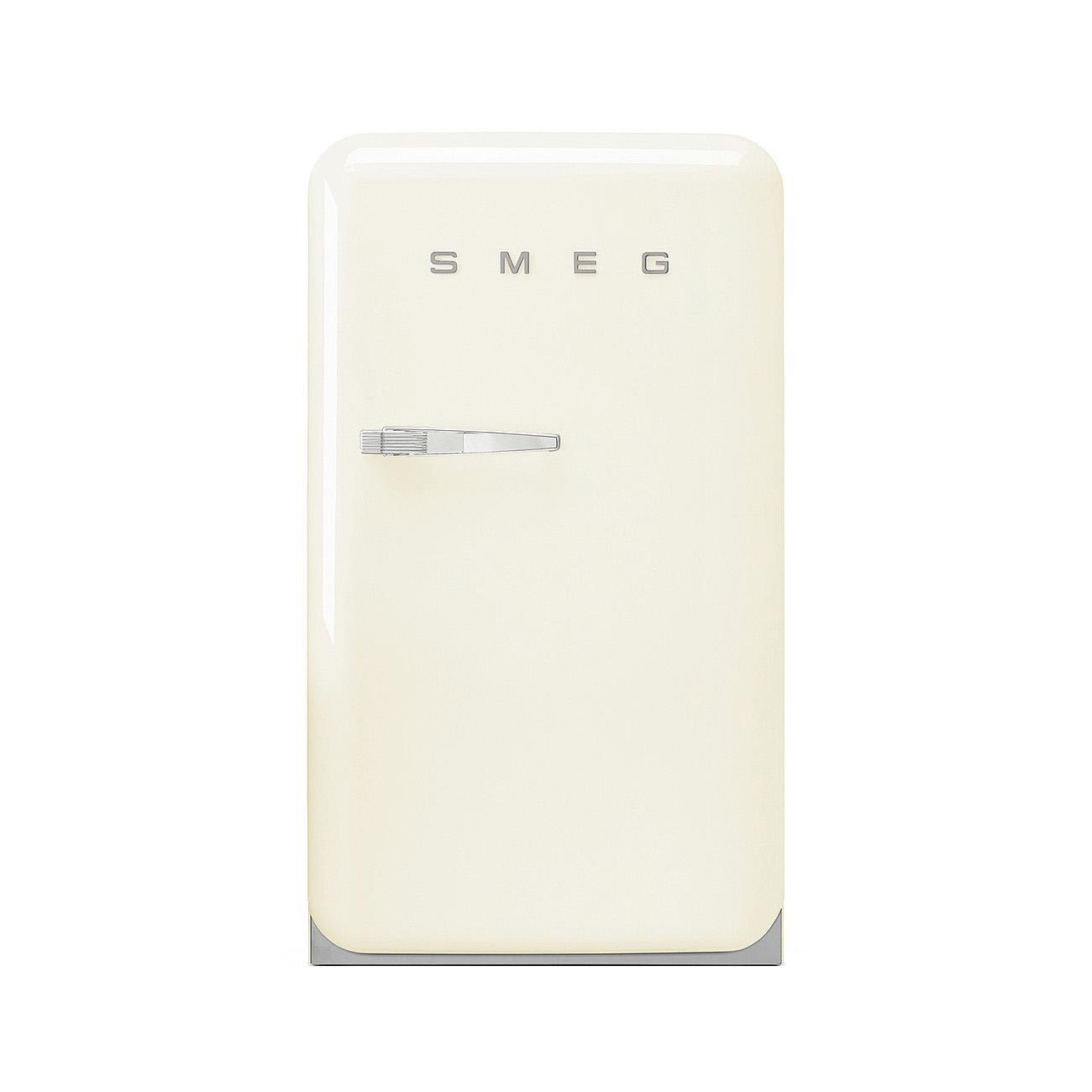Smeg - FAB10H Standkühlschrank Happy Homebar - creme/lackiert/Rechtsanschlag | Küche und Esszimmer > Küchenelektrogeräte > Kühlschränke | Creme | Metall| kunststoff | Smeg